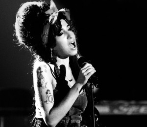 Amy Winehouse durante los MTV Europe Awards 2007.