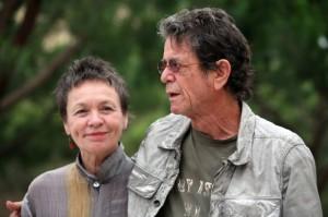 Lou Reed y su esposa Laurie Anderson. Foto: PERE DURAN
