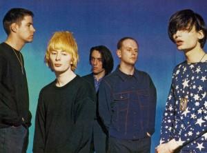 Radiohead en 1993.