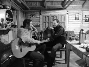 José Luis Aguirre y Ramiro González