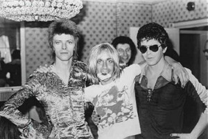 David Bowie, Iggy Pop y Lou Reed