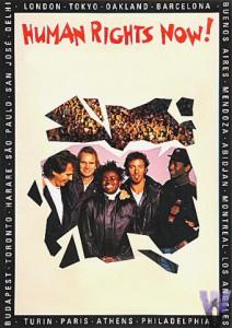 Afiche de la gira Amnesty
