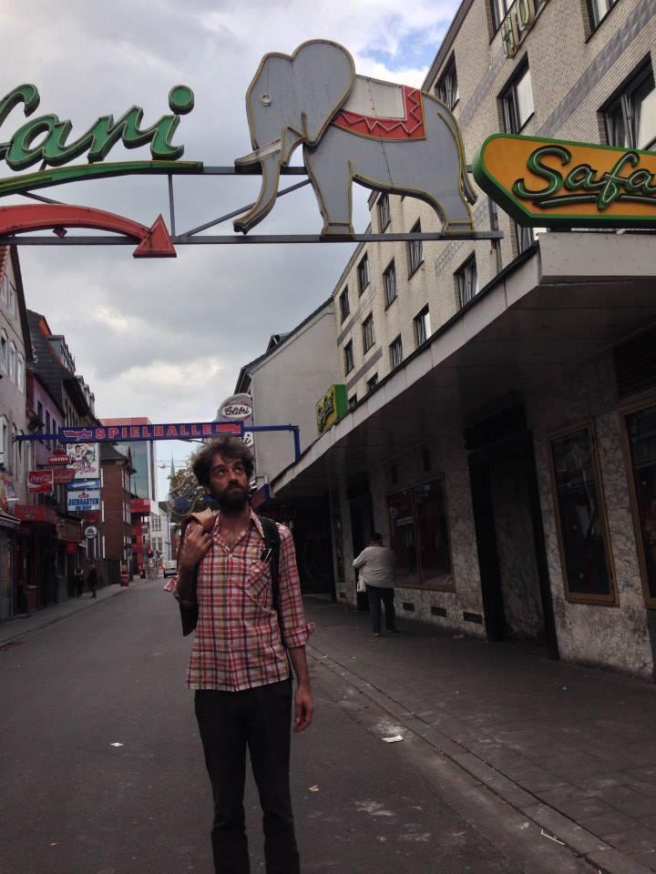 Pablo Dacal en Hamburgo.
