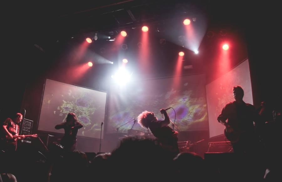 El Siempreterno en Niceto Club (Bs As) en el debut de Hernan Espejo como guitarrista de la banda.