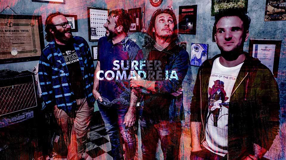 Súrfer Comadreja edita el primer álbum/vino del país